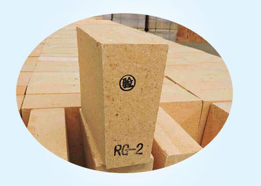 55% Al2O3 Wedge Shaped High Alumina Fire Bricks For Reverberatory Furnace